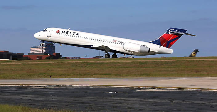 Delta Topped August On-Time Performances Among Major North American Carriers