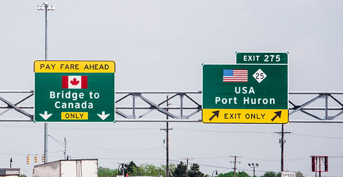 US Extends Border Closures with Mexico, Canada