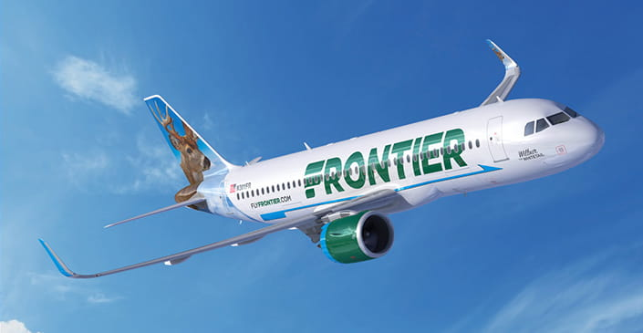 Frontier Coming to Newark with 15 Nonstop Routes