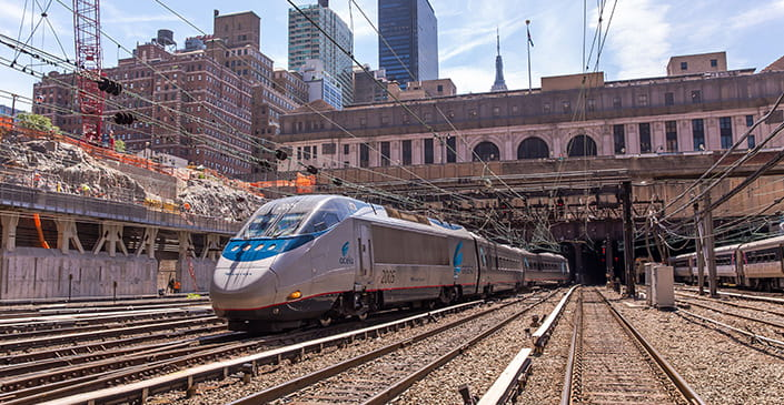 Amtrak to Offer Non-Stop Service Between New York and Washington, DC Starting This Fall