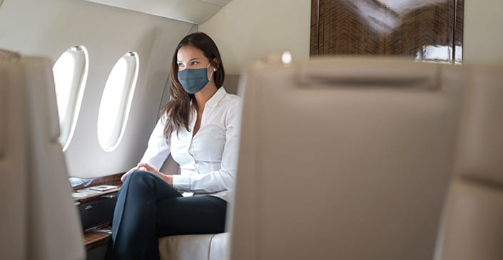 Harvard study: Masks, when worn throughout travel, offer significant protection from COVID-19