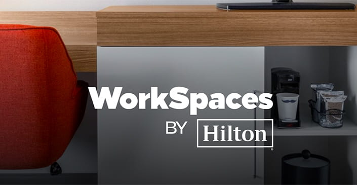Hilton to Offer New 'WorkSpaces' Work-from-Hotel Options in US and UK